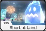 MK8- GCN Sherbet Land