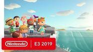Animal Crossing New Horizons - Nintendo Switch Trailer - Nintendo E3 2019