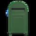 NH-House Customization-green large mailbox