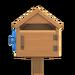 NH-House Customization-wooden mailbox