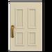 NH-House Customization-white common door (square)
