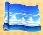 Ocean-horizon Wall