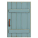 NH-House Customization-blue rustic door (square)