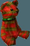 Papa bear red tartan