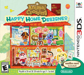 Animal Crossing Happy Home Designer (Portada)