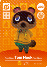 Amiibo 203 Tom Nook