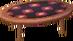 Square alpine low table