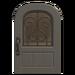 NH-House Customization-gray iron grill door (round)