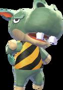 Rocco - Animal Crossing New Leaf