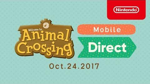 Animal Crossing Mobile Direct - 24 25-10-2017