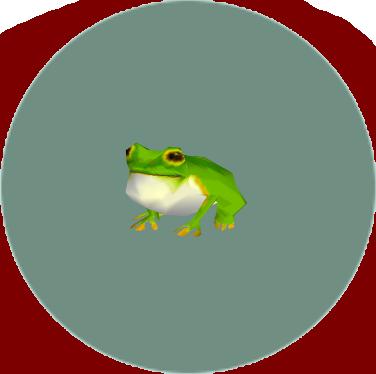 動森-青蛙