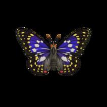 Mariposa emperador japonés (New Horizons)