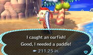 Oarfish new leaf 2