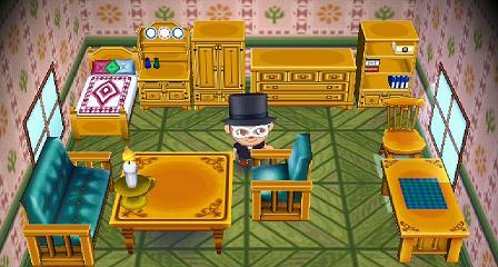 The Ranch Series In Animal Crossing Consists Of Ten Furniture Items, Plus  Matching Wallpaper And Flooring. The Furniture Is Light Cedar Designed With  Fancy ...