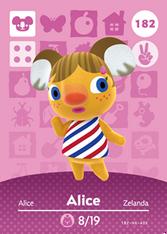 Amiibo 182 Alice