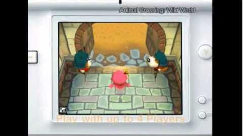 Animal Crossing Wild World (Nintendo DS) Trailer