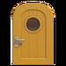 NH-House Customization-yellow basic door (round)