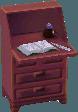 Classic desk violet
