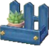 Blue wall shelf NL
