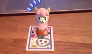 Reese Surprised Photos With Animal Crossing