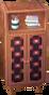 Square alpine closet