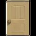 NH-House Customization-beige wooden door (square)