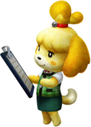 MH4U-Palico Equipment Isabelle