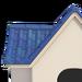NH-House Customization-blue curved shingles