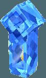 Sapphire blue clock