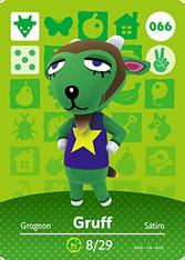 Amiibo 066 Gruff
