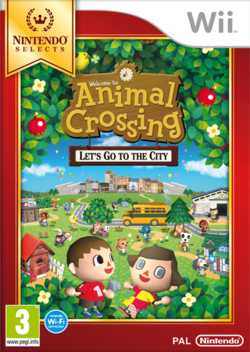 Carátula Animal Crossing Let's Go to the City (NS)