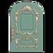 NH-House Customization-blue fancy door (round)