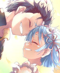 Rezero subaru rem