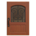 NH-House Customization-iron grill door (square)