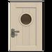 NH-House Customization-white basic door (square)