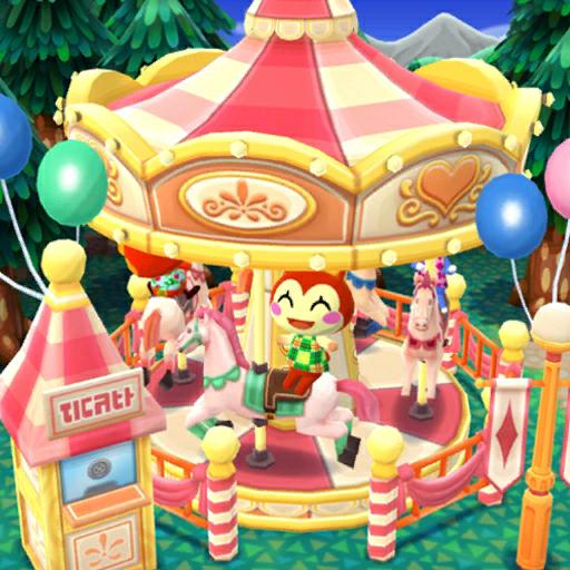 Bunnie Riding A Carousel