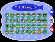 Fish chart (Animal Forest)