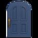 NH-House Customization-blue common door (round)
