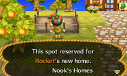 Rocket ACNL Home Setup