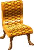 Cabana chair gold