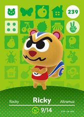 Amiibo 239 Ricky