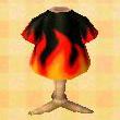 Flame tee