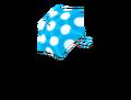 Umbrella blue dot parasol.png