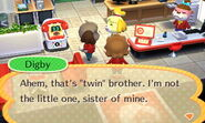Digby correcting Isabelle