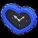 NH-Furniture-Cute wall-mounted clock (blue)