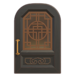 NH-House Customization-black imperial door (round)