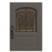 NH-House Customization-gray iron grill door (square)