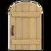NH-House Customization-rustic door (round)