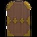 NH-House Customization-brown zen door (round)