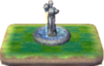 Fuente con estatua